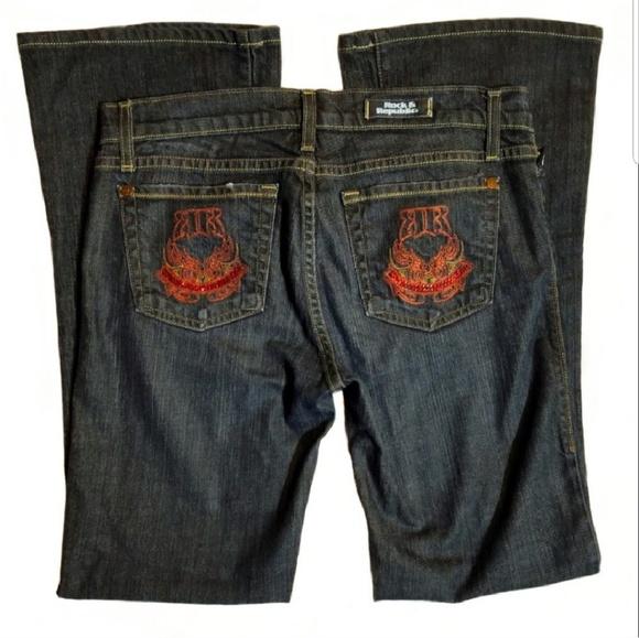 Rock & Republic Denim - ⬇️$40 PRICE DROP ROCK & REPUBLIC Roth Flare Jeans